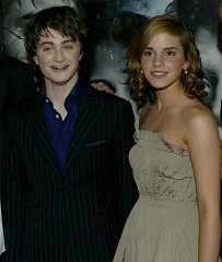 Alfonso Cuaron, Daniel Radcliffe, Emma Watson and Rupert Grint